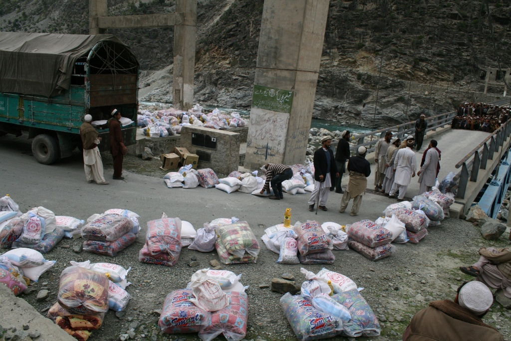 Arranging Relief Packages For Distribution, District Kohistan