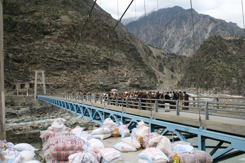 Providing Relief To The Very Poor On Japan Bridge Kandian
