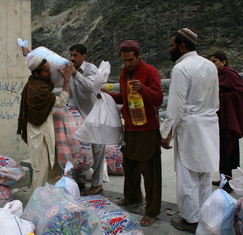 Relief Assistance For Earthquake Affected In 28 Villages Of District Kohistan