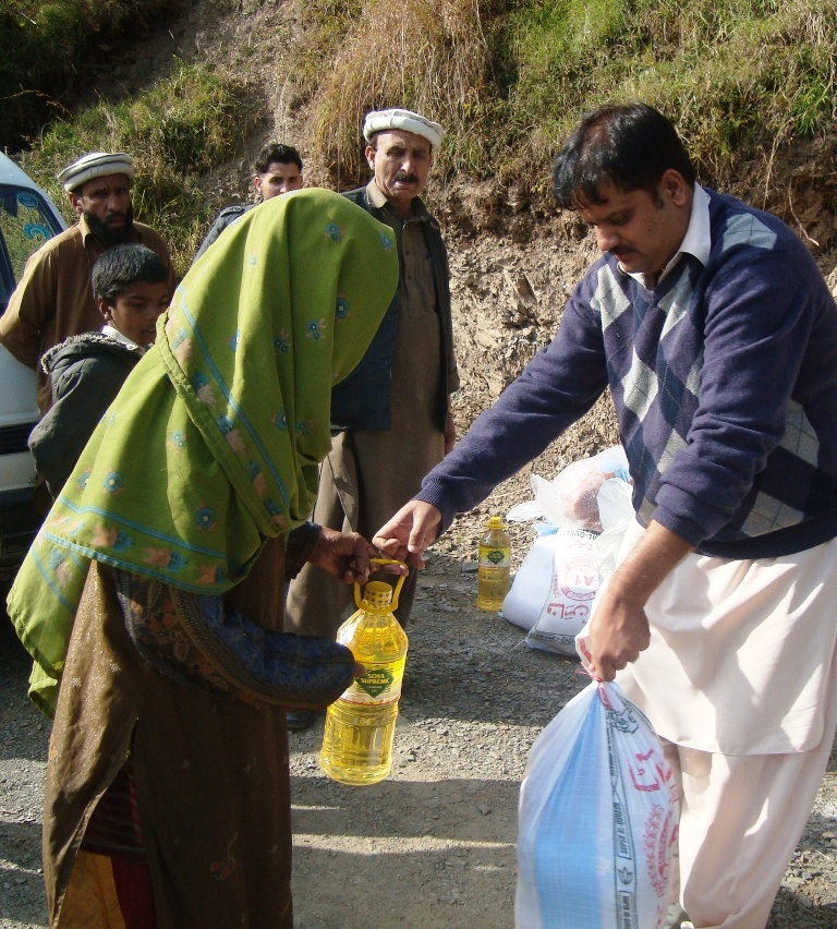 Relief Assistance For The Poor, District Abbottabad