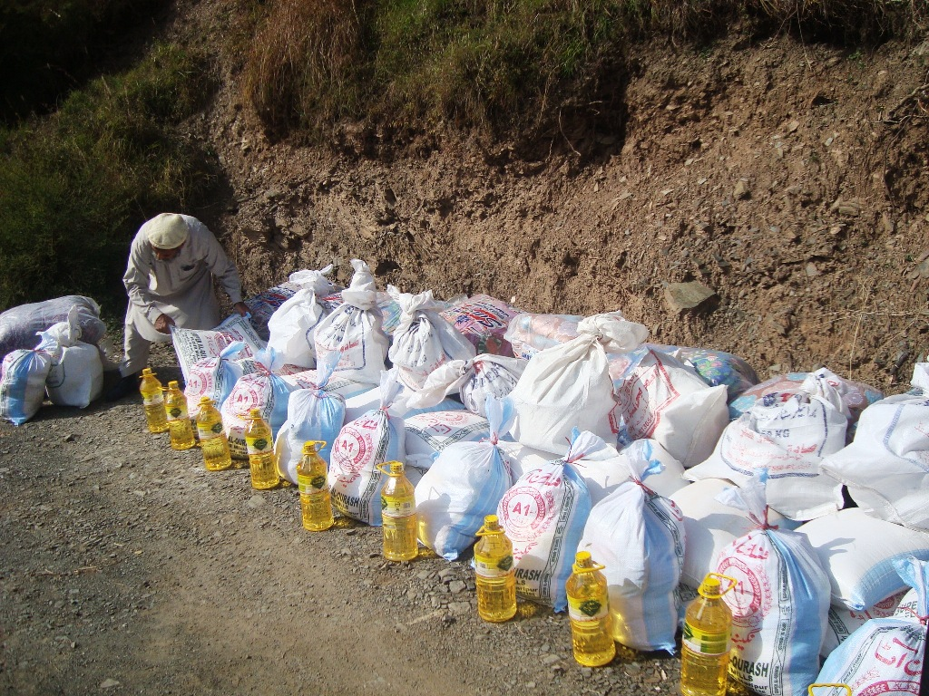 Relief Packages For Earthquake Affected People