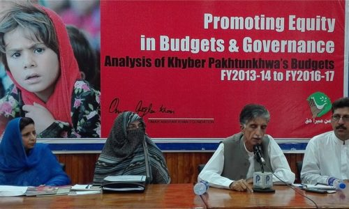 Foundation Presents Its Analysis Of KP's Budget FY2016-17.
