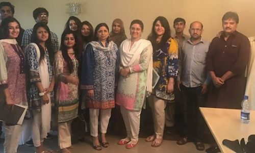 Foundation's Session With Students Of Bahria University.