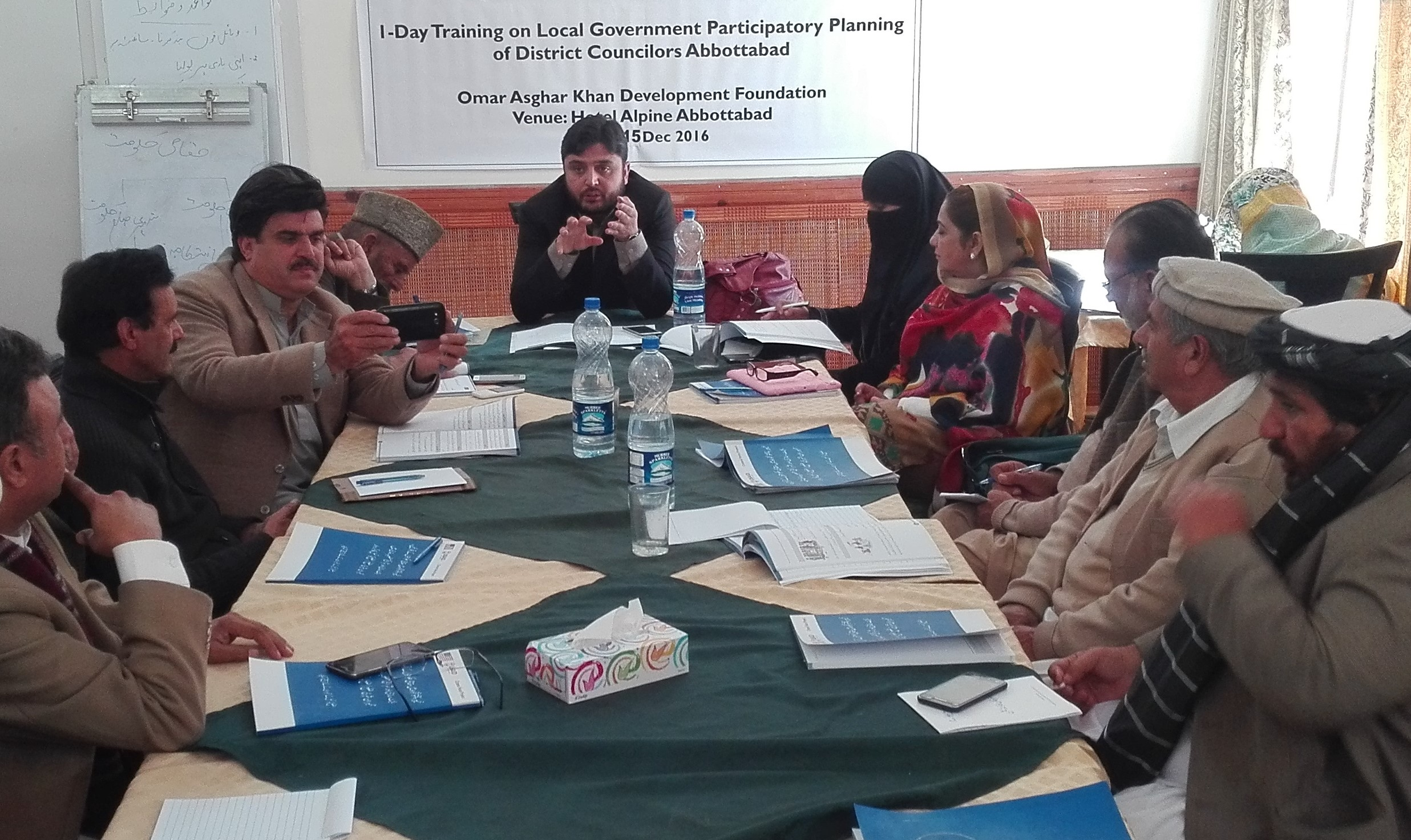 The Foundation Trained Nearly 2,000 Elected Councilors In District Abbottabad.