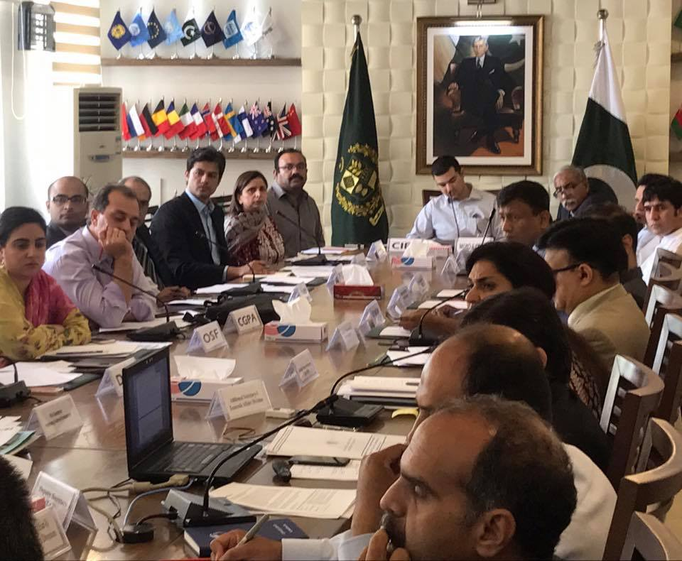 Inter-Ministerial & CSOs Meeting – EAD Islamabad