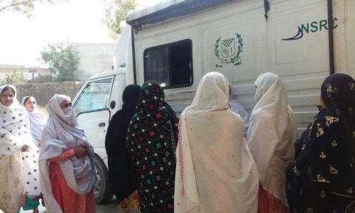 Women Get CNICs: The Foundation & AAN Arrange NADRA Mobile Van Visits In Rural Areas Of Haripur