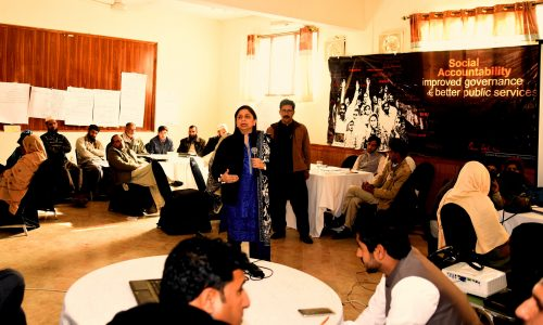 Building Capacities In Social Accountability.Training CSOs From KP's Districts Abbottabad & Haripur