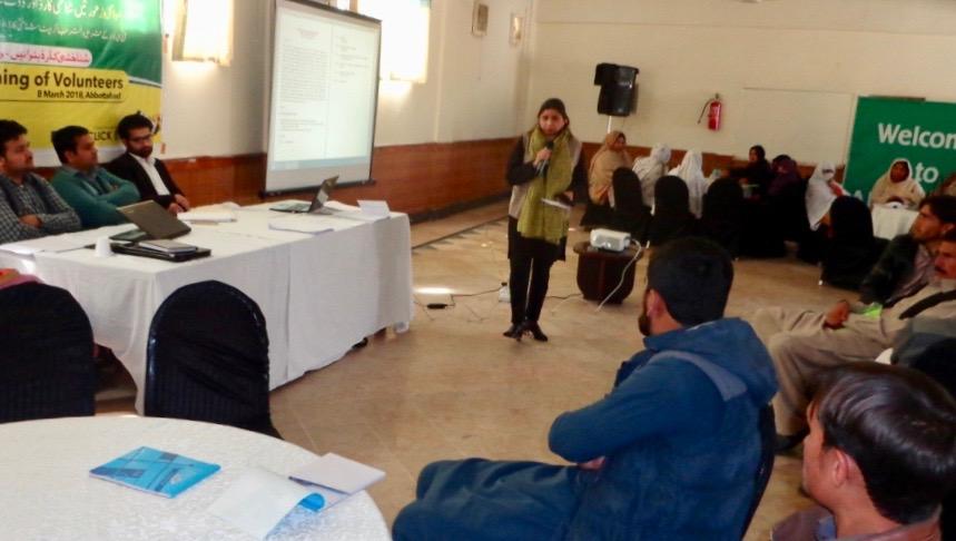 2. Ms. Rashida Dohad Introducing The Campaign