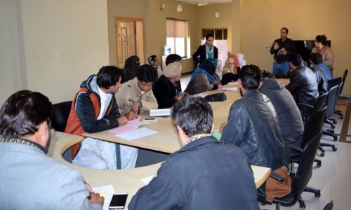 Citizen Journalism Training By MMfD In Collaboration With The Foundation