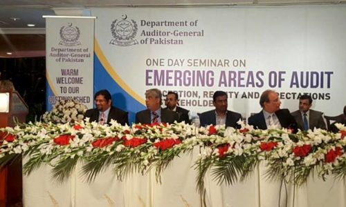 Citizen Participatory Audit Seminar On Emerging Areas Of Audit Organised By Pakistan Auditor General's Office