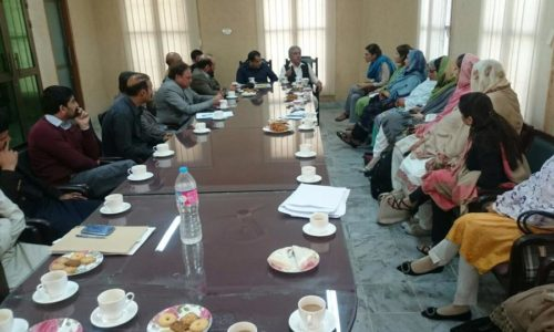 Discussing KP's Local Government & Fiscal Decentralisation , Office Of District Nazim-Haripur