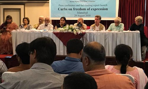 Curbs On Freedom Of Expression Launch Of HRCP's Fact-Finding Report