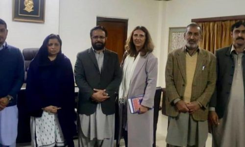 CERAG: Ms. Caterina Alari Makes A Monitoring Field Visit To Abbottabad