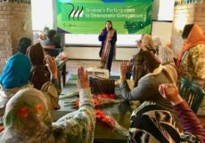 2018 Manifestoes: Women & Democratic Governance , Behbud Cafe, Islamabad