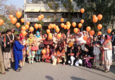 Rang De Tu Mohe Gerua -Part 2  16DaysActivismAgainstGenderBasedViolence  The 7 December Event Was Part Of The 16-day Global Campaign. The Foundation Used Flowers & Balloons To Spread Orange..