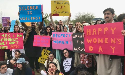 Apna Time Aa Gaya Hai…. Team Foundation Marches With Hundreds Of Energized Women & Men Demanding Equal Rights   Aurat Azadi March, Islamabad