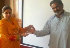 Har Dil Azeez Award Team Foundation Votes Rashid Awan As Team Member 2018 PRP, Lahore