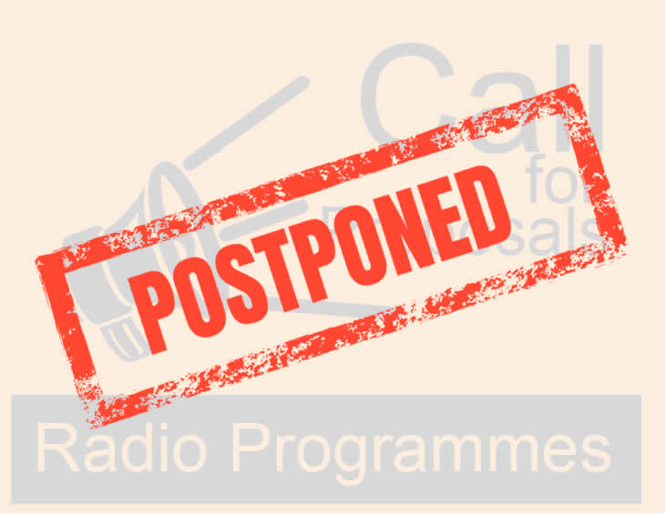 Pic #1 – Call For Proposals For Radio Programmes