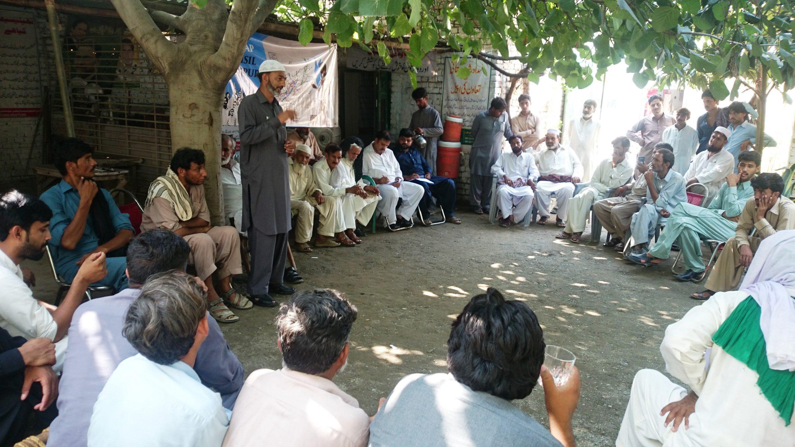 Problem Identification Meetings In Village Alloli (2)