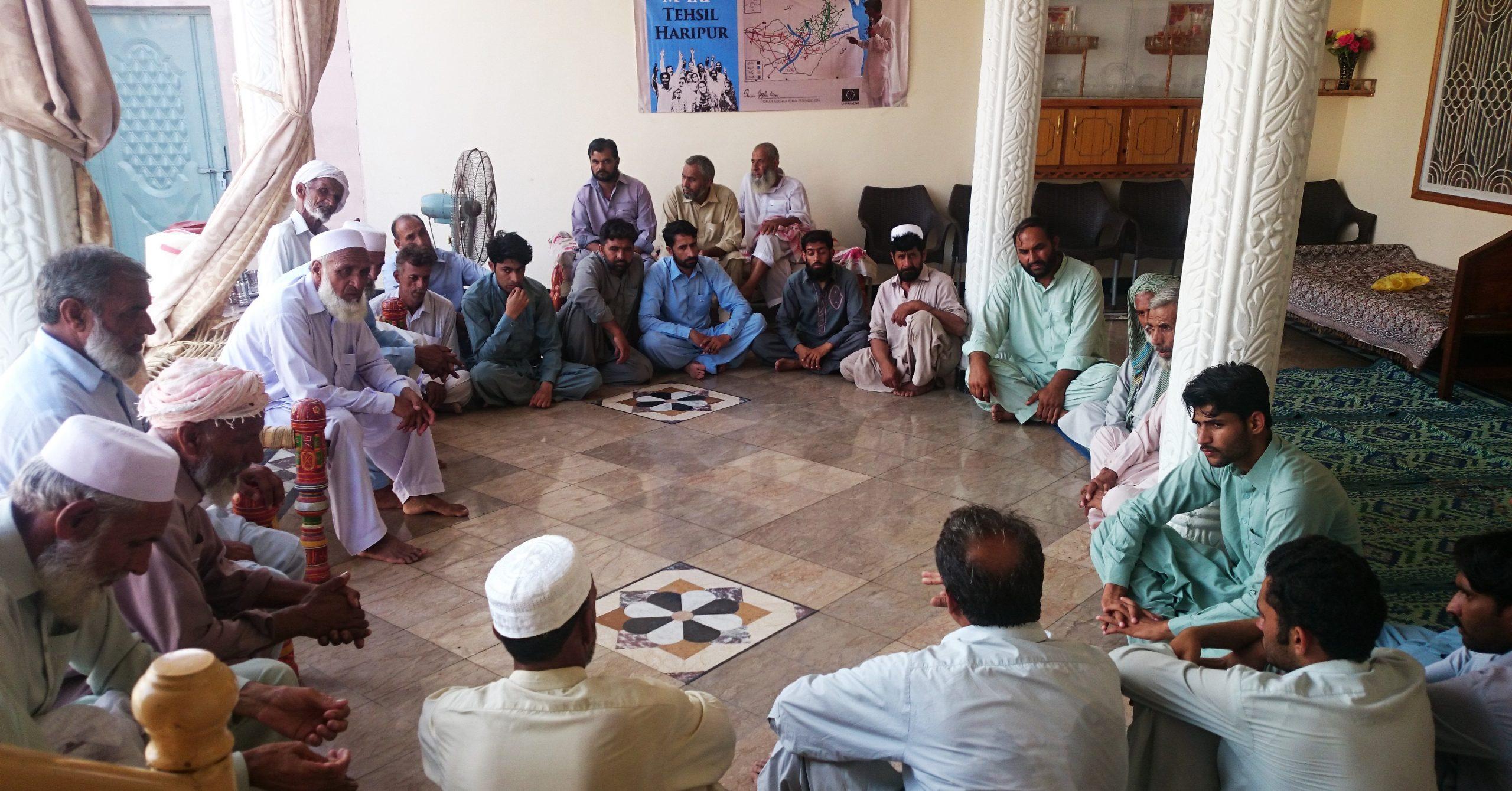 Problem Identification Meetings In Village Bageeda (1)