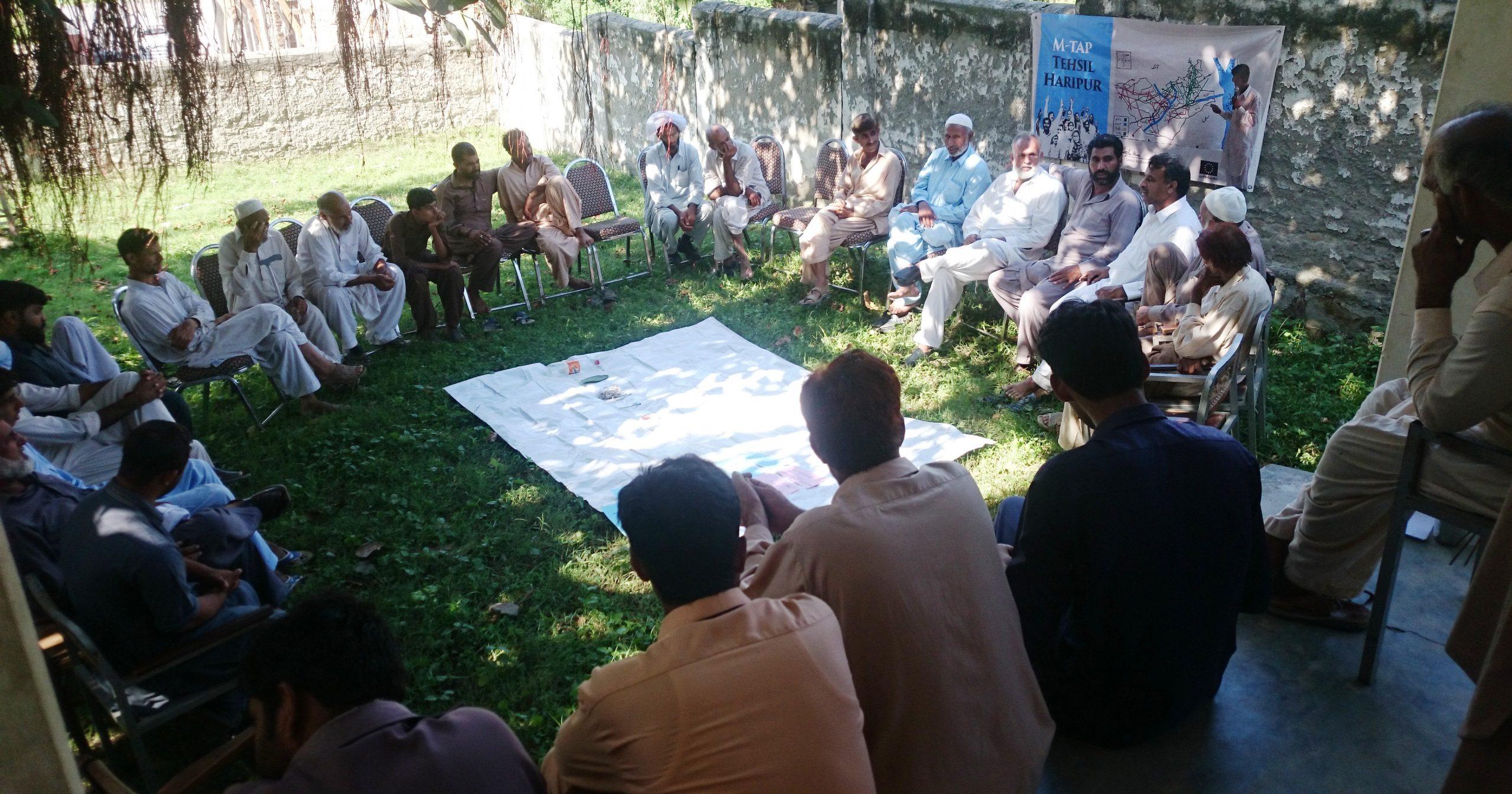 Problem Identification Meetings In Village Shingri Paswal (4)
