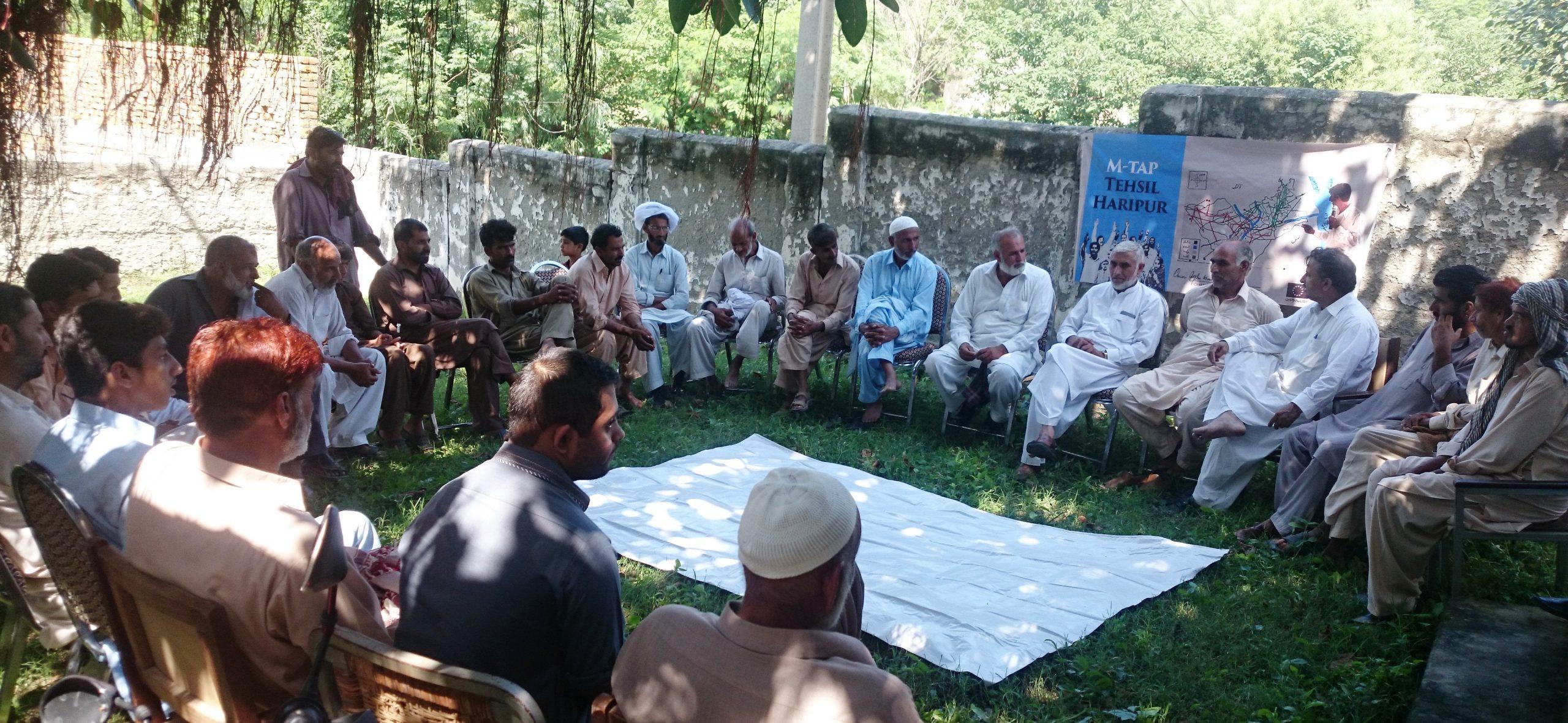 Problem Identification Meetings In Village Shingri Paswal (7)