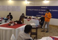 Aawaz Aagahi Centers (AACs) – Training Of Trainers
