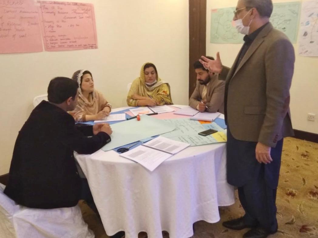 Promoting Social Cohesion – Aawaz-II ToTs