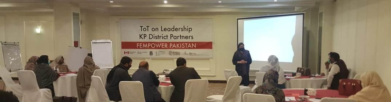 Fempower Pakistan Training Of Trainers – Leadership