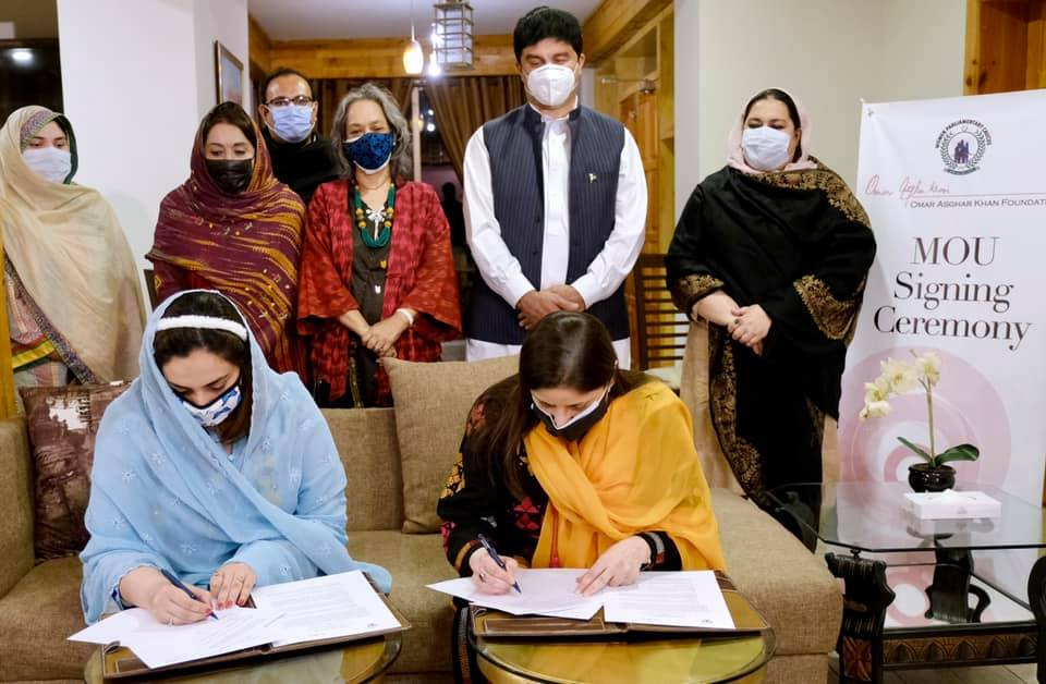 MOU Signed Between KP's Women Parliamentary Caucus & The Foundation