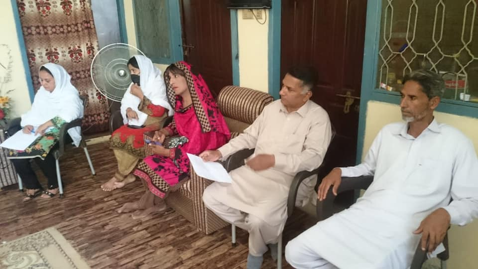 Meeting Of Haripur's Area Support Network