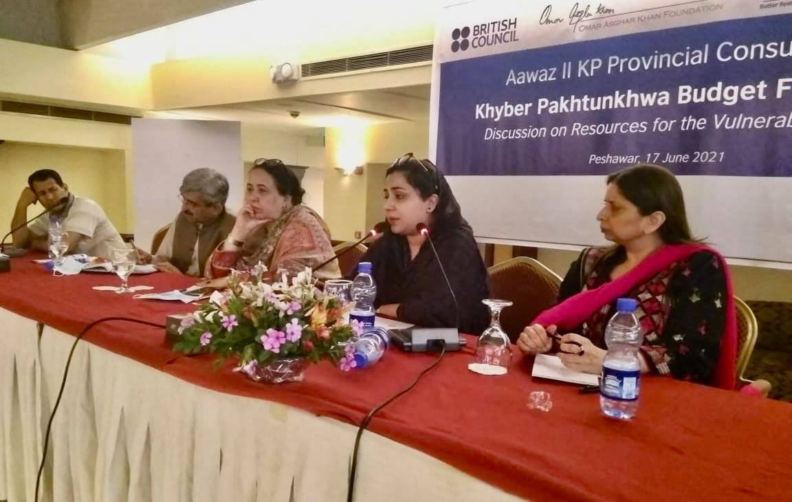 KP Budget FY2021-22: Resources For Vulnerable Groups