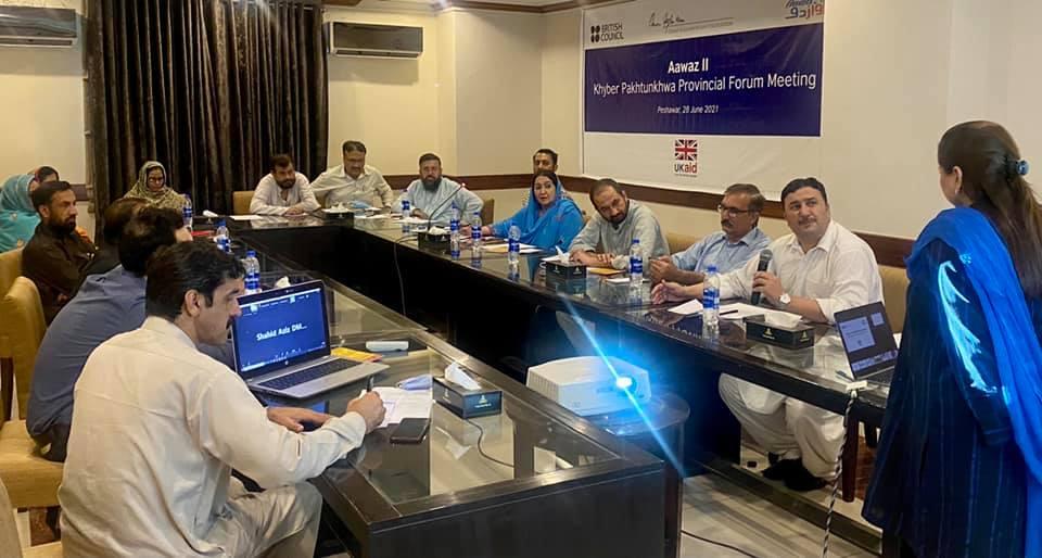 Aawaz-II Provincial Forum's 6th Meeting